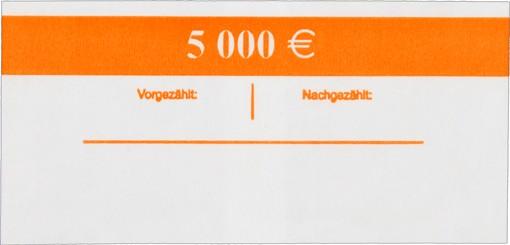 Geldscheinbanderole 100 x 50 EUR