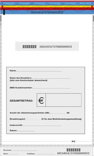 """Sicherheitstasche """"Safebag"""" 295 x 465 + 30"""