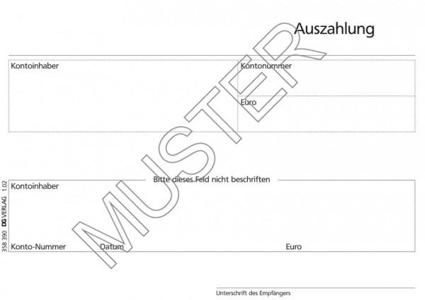 Auszahlung agree neutral FIDUCIA Karlsruhe