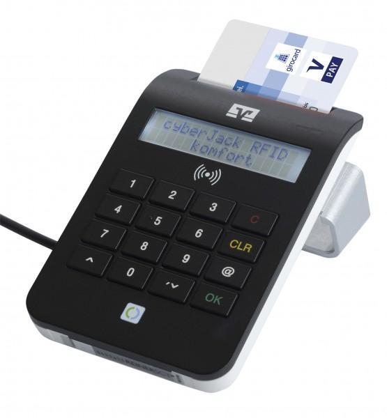 Chipkartenleser cyberJack komfort RFID nPA