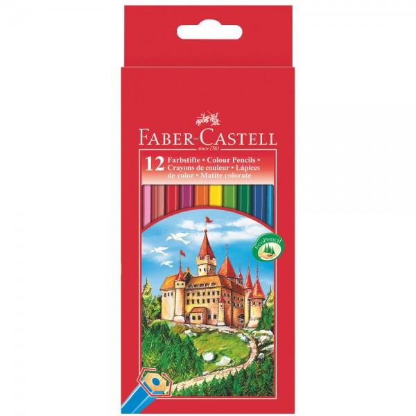 "FABER CASTELL Buntstifte-Set ""Castle"", 12-teilig"